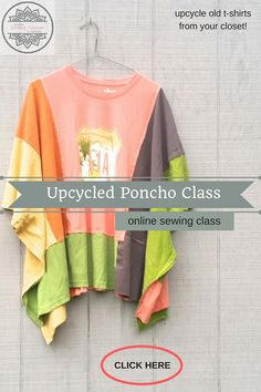 Women's Upcycled Clothing and Online Sewing Classes by CreoleSha Sewing Class, Love Sewing, Hand Sewing, Sewing Tutorials, Sewing Patterns, Sewing Tips, Sewing Machines Best, How To Make Something, Jean Crafts