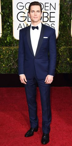 Matt Bomer in Ralph Lauren at the Golden Globes 2015 | #redcarpet #GoldenGlobes #redcarpetfashion
