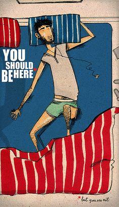 you should be here... | Alfonso Casas Moreno