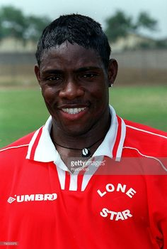 Football, 2002 World Cup Qualifier, African Second Round, Group B, Accra, Ghana, 28th January 2001, Ghana 1 v Liberia 3, A portrait of Liberia+s Oliver Makor