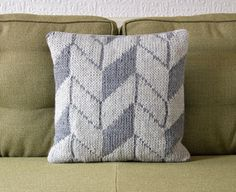 Geometric Pattern Gay Pillow/Cushion Cover by Knit Frekkles contemporary pillows