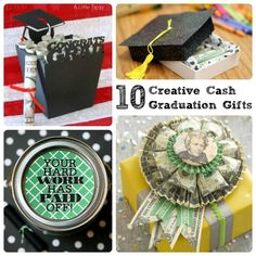 10 Creative Cash Graduation Gifts