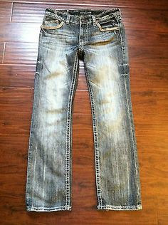 WRANGLER WLT20BR Mens JEANS RETRO RELAXED FIT BOOT CUT NWT ...