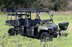 2012 Polaris Crew 800 - Rigged for Hunting Ranger Atv, 2019 Ranger, Polaris Off Road, Utv Accessories, Ranch Riding, Polaris Ranger Crew, Quail Hunting, Big Country, Golf Carts