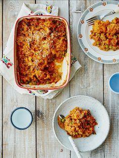 Jamie Oliver vegan recipe: Michela's veg & lentil cottage pie