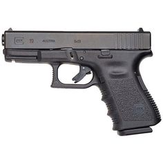 Glock 19: A compact, 15-round semiautomatic pistol in 9mm.