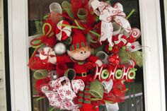 Hey, I found this really awesome Etsy listing at http://www.etsy.com/listing/111463667/deco-mesh-elf-wreath