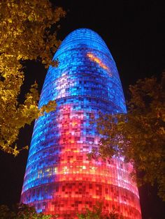 Torre Agbar,Spain | See More Pictures