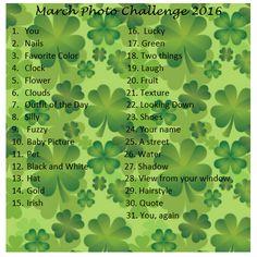 March Photo Challenge 2016