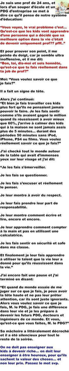 Fact Quotes, Funny Quotes, Life Quotes, Quote Citation, Faith In Humanity Restored, French Quotes, Positive And Negative, True Stories, Wisdom