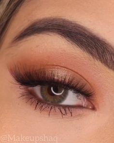 Simple Eyeshadow Looks, Makeup Looks For Brown Eyes, Simple Makeup Looks, Makeup Eye Looks, Eye Makeup Steps, Eye Makeup Art, Simple Eye Makeup, Makeup For Green Eyes, Natural Eye Makeup