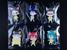 Yowamushi Pedal Rubber Strap Complete set Box Namco Namja Town Limited Sohoku | $32.15 + $10.51