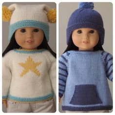 Rambler Sweaters and Hats for 18 Inch American par JayBirdFinnigan