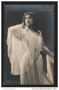 Geraldine Farrar | 117095 Geraldine FARRAR Great American OPERA Singer Old PHOTO