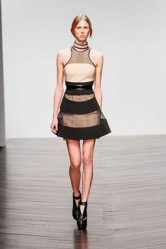 David Koma  London Fashion Week 2014