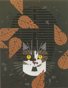 Charley Harper the master of clean line and color usage