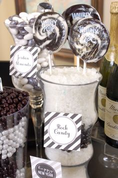 New Years Candy Buffet - From Candygalaxy.com
