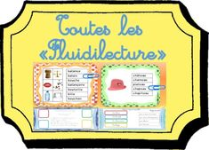 Fluidilecture Archives - Dys é moi Cycle 3, Teacher Organization, Homeschool, Bullet Journal, Teaching, Activities, Comme, Phrases, Voici