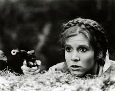 Carrie Fisher - Princess Leia - Star Wars - Return of the Jedi.