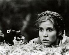 Carrie Fisher - Princess Leia - Star Wars - Return of the Jedi.