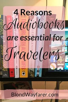 Audiobooks | Travelers | Traveling Tips | Reading | Kindle | Audible
