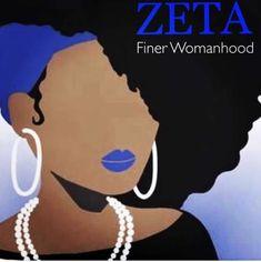 Black Girl Art, Black Women Art, Black Girl Magic, Black Art, Black Fraternities, Greek Crafts, Divine Nine, Phi Beta Sigma, How To Grow Natural Hair