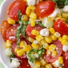 Summer Corn Salad recipe   Lil' Luna