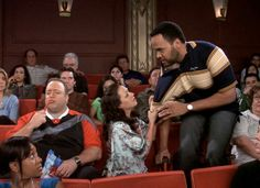 Deacon, please don't leave! King Of Queens, Cinema