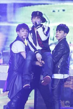 Jungkook, Suga, and Jimin