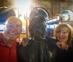 With Ken Dodd #limeststation #ticklingstick