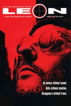 Leon movie poster (1994). One of the best.