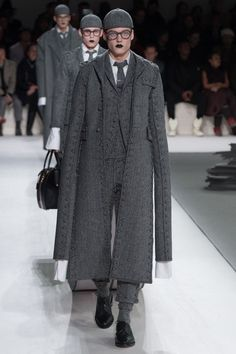 See the complete Thom Browne Fall 2017 Menswear collection.