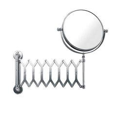 Espelho Dupla Face com Braço Sanfonado Brinox MOD-1939/100 - Casa do Marceneiro
