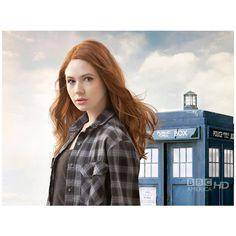 Photos - Karen Gillan as Amy Pond - Doctor Who - BBC AMERICA ❤ liked on Polyvore