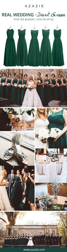 Still searching for some Fall wedding color inspiration? Go ahead and dress up your bridesmaids in Dark Green this Fall season! Like straight out of a fairy tale, this Earthy shade of green gives off an enchanted forest feel. Choose from 150+ styles and let your bridesmaids' personalities shine by mixing-and-matching. Every dress for $150 or less!