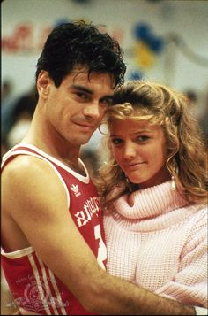 Mark Arnold and Lorie Griffin in Teen Wolf 80s Movies, Good Movies, Movie Tv, Teen Wolf 1985, Spin City, Michael J Fox, Teen Tv, Teen Photo, Celebrity Stars