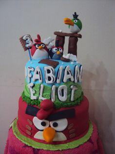 Cake Angry birds....