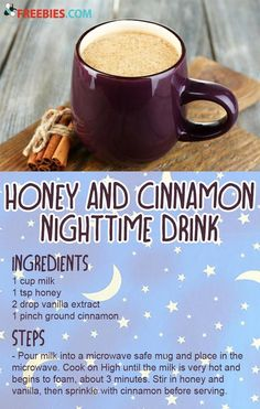 Start using the tips from this WebMD slideshow tonight to sleep better. But the moment the clock strikes noon, avoid caffeine in food. Source by insomniatips Drink Fun Drinks, Yummy Drinks, Healthy Drinks, Yummy Food, Healthy Recipes, Beverages, Tasty, Milk Recipes, Coffee Recipes