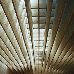 light & beams (in concrete, 6cm!) Sverre Fehn!