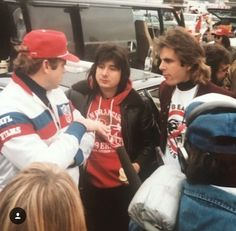 Steve Perry and Jonathan Cain tailgate at Niners game with NFL Films. Steven Ray, Journey Band, Neal Schon, Journey Steve Perry, Film Music Books, Throwback Thursday, Perfect Man, Tv Shows, Interview