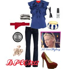 DPCON12 Day, created by allyours-styling on Polyvore, This is my Conference outfit xx