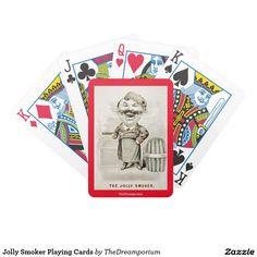 Jolly Smoker Playing Cards