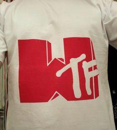 #WTF MTV logo style Tshirt