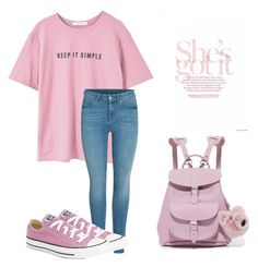 """""""Untitled #28"""" by fawn98 on Polyvore featuring MANGO, Converse and Grafea"""