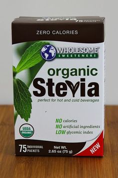 Kalyn's Kitchen Picks: Wholesome Sweeteners Organic Stevia Packets (The only brand of Stevia packets I have ever liked; not a sponsored post!)
