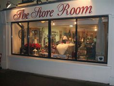 If you want a shop for all the rustic needs of country living go to The Store Room in Gorey, County Wexford, Ireland. You'll find everything from wood stoves and logs to painted furniture.