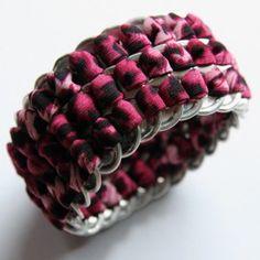 DIY: armband van bliklipjes