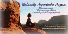 What you need to know about the private mediumship training and apprenticeship program. Learn about it here!