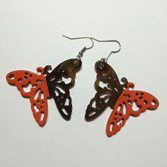 E0078 Ca Nature Organic Buffalo/Cow Horn Earring Handmade Craft Fashion Jewelry