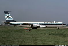 British Midland Airways - BMA G-BFLD Boeing 707-338C aircraft picture